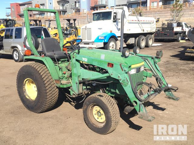 John Deere 770 Utility Tractor In Westminster Colorado