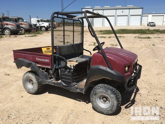 Kawasaki Mule 4010 4x4 Utility Vehicle in Carrizo Springs