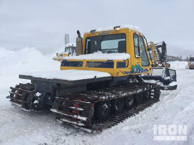 Bombardier BR400 Snow Groomer in Corner Brook, Newfoundland