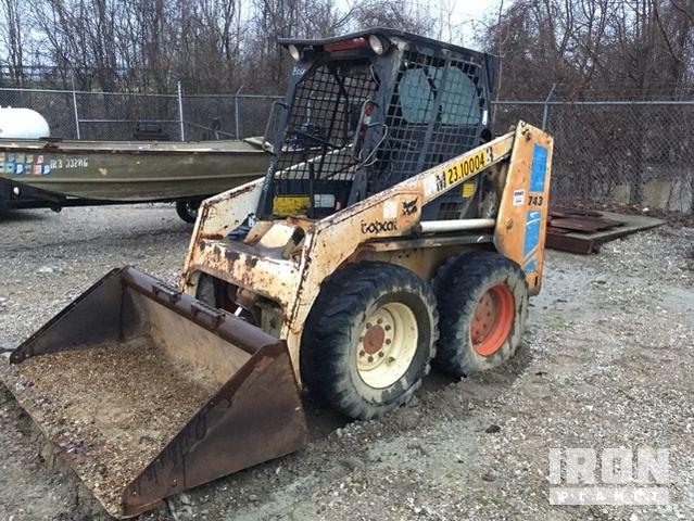 Bobcat 743 Skid-Steer Loader in Evansville, Indiana, United States