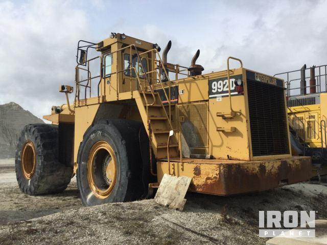 cat 992d wheel loader in kankakee illinois united states rh ironplanet com