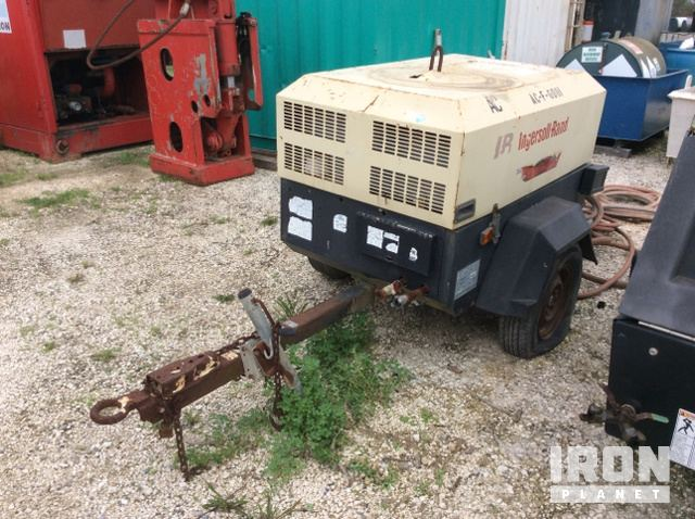 Ingersoll-Rand P90 Air Compressor in Sulphur, Louisiana, United