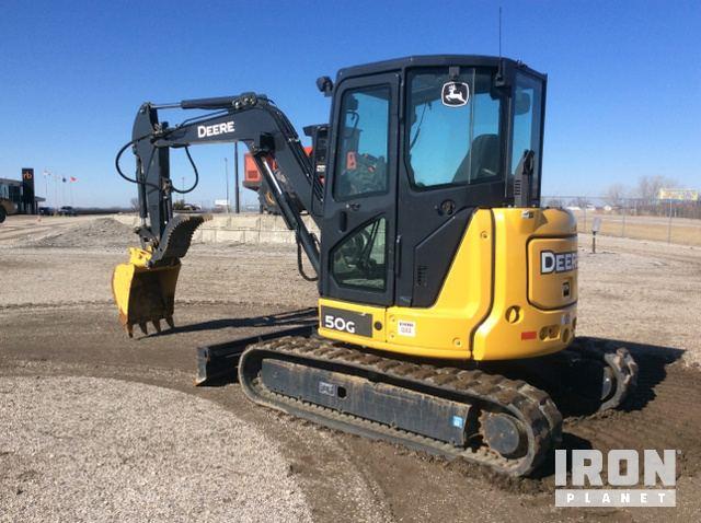 2015 John Deere 50G Mini Excavator in Odessa, Missouri