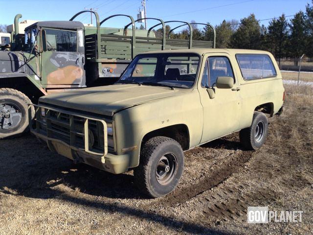 1073530af9 Surplus 1984 Chevrolet D10 Blazer 4x4 SUV in Sparta