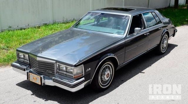 1985 Cadillac Seville Elegante In Lakewood Ranch Florida United