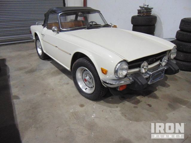 1976 Triumph Tr6 Roadster In Lakewood Ranch Florida United States