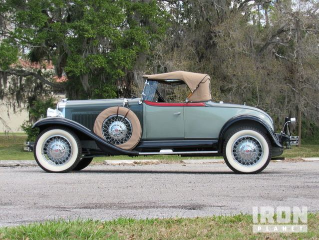 1930 Studebaker President Roadster in Punta Gorda, Florida, United