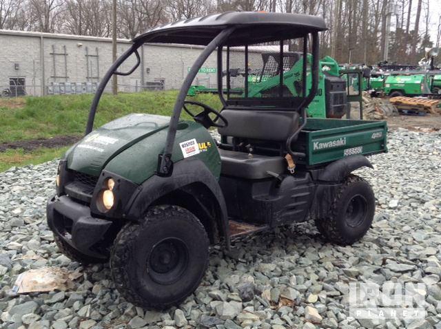 2014 Kawasaki Mule 610 4x4 Utility Vehicle In Durham North