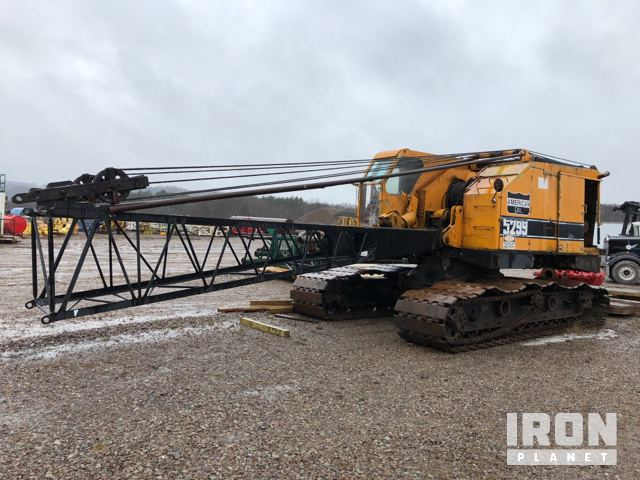 American 5299 Lattice-Boom Crawler Crane in Bruceton Mills, West