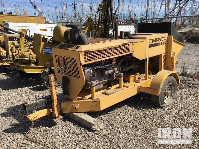 2008 (unverified) Multiquip Mayco LS-60 Trailer Mounted Concrete