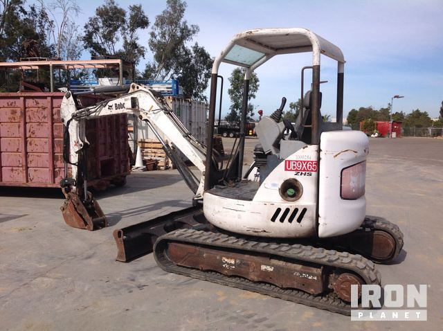 2004 Bobcat 430 G Mini Excavator in San Diego, California, United