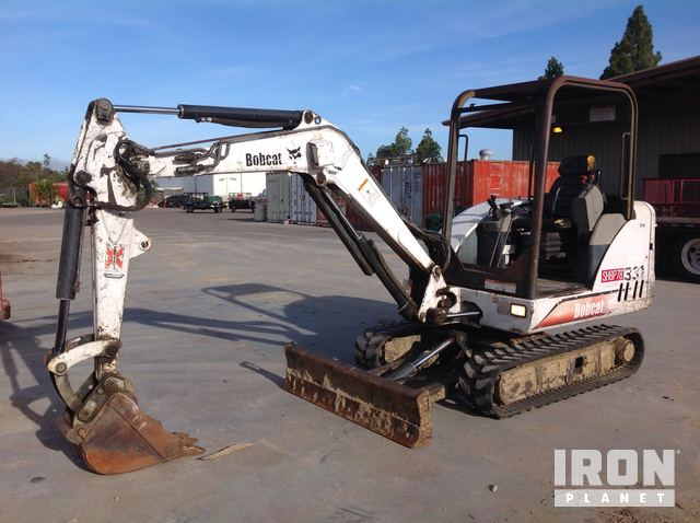 Bobcat 331 D Mini Excavator in San Diego, California, United