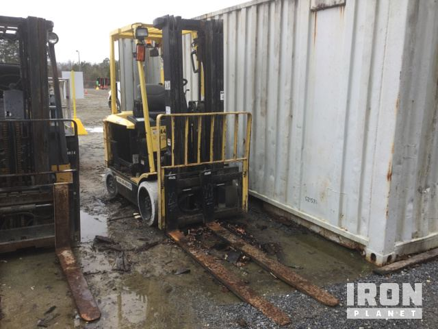 2007 Hyster-Yale E60Z Electric Forklift in Winterville