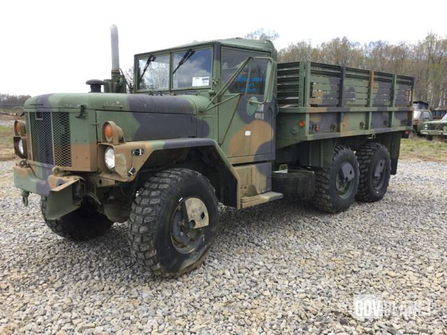 Surplus 1999 Am General M35a3 2 1 2 Ton 6x6 Cargo Truck In Fort