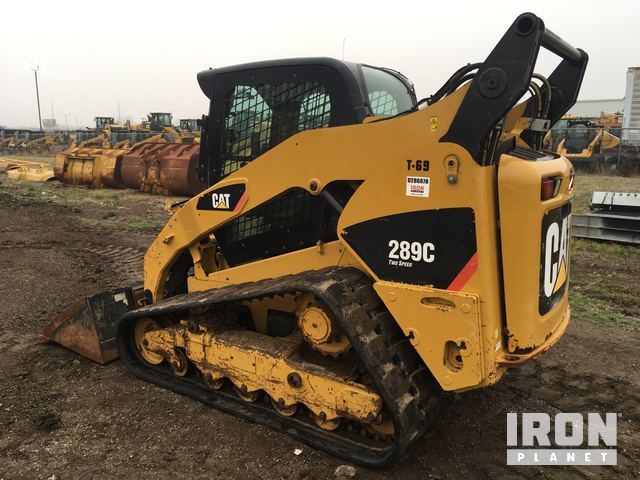 2012 Cat 289C Compact Track Loader in Park City, Kansas
