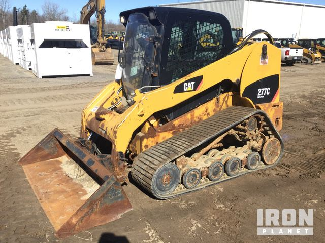 2011 Cat 277C Compact Track Loader in Grand Rapids, Michigan