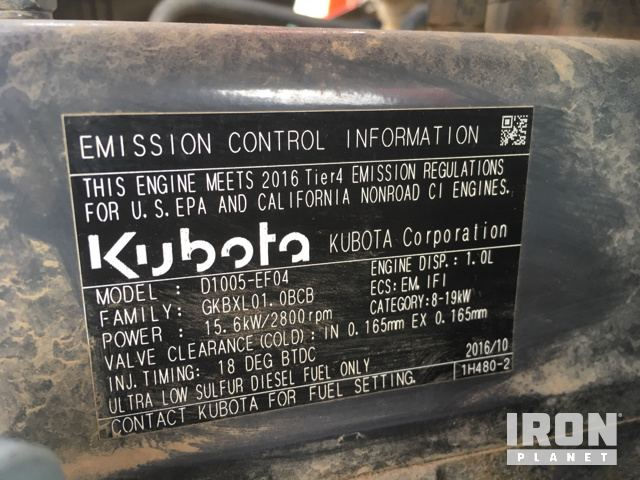 2016 Kubota B2301HSD 4WD Tractor in Rickreall, Oregon