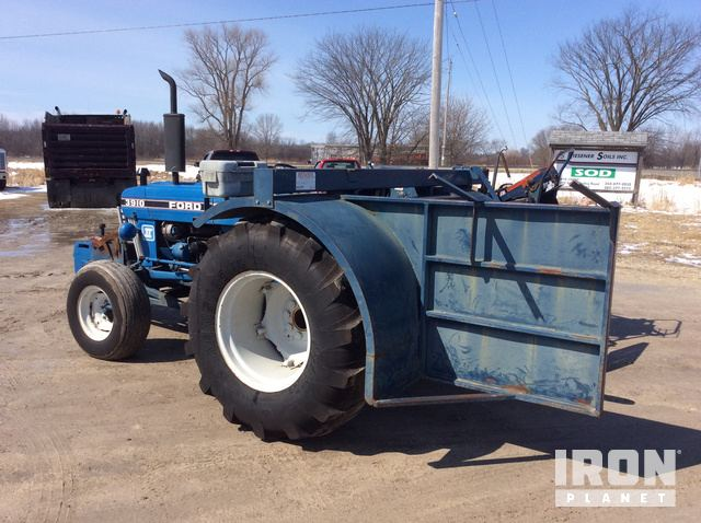 Ford 3910 2wd Tractor W Sod Harvester In Jackson Wisconsin