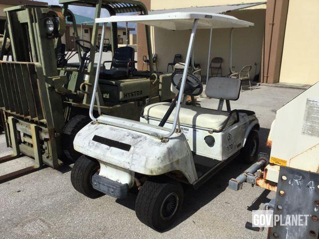 Surplus Club Car Gas Ed Cart In Santa Rita Guam United States Govplanet Item 1375201