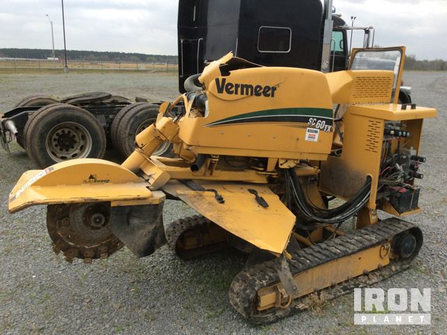Vermeer Stump Grinder For Sale >> 2017 Vermeer Sc60tx Stump Grinder In North Little Rock Arkansas