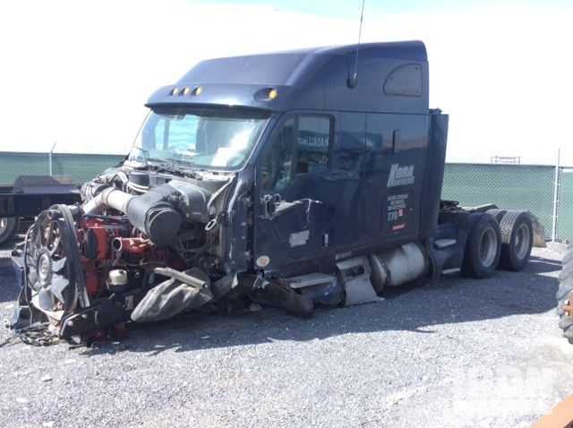 2010 Kenworth T2000 T A Sleeper Truck Tractor In Lake Point