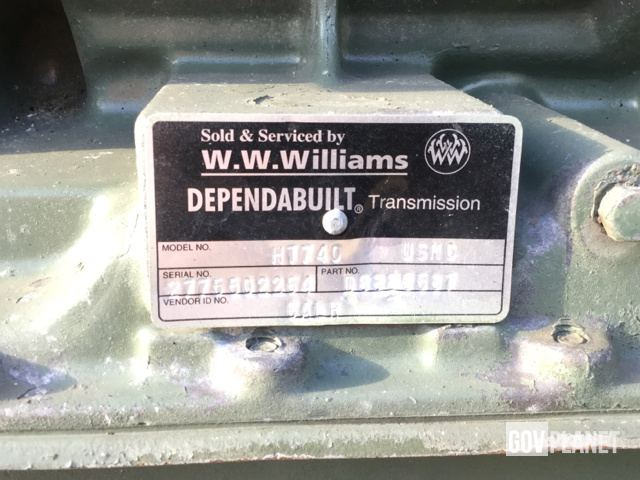 Surplus Detroit Diesel 8087-7899 Engine w/Transmission in Albany