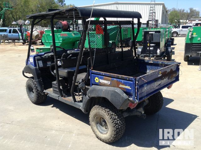 2013 Kawasaki Mule 4010 Trans 4x4 Utility Vehicle in Charleston