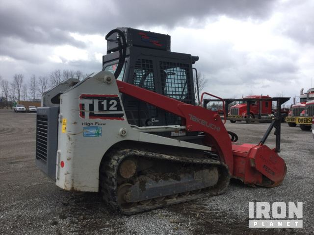 2015 Takeuchi TL12 Compact Track Loader in Westfield