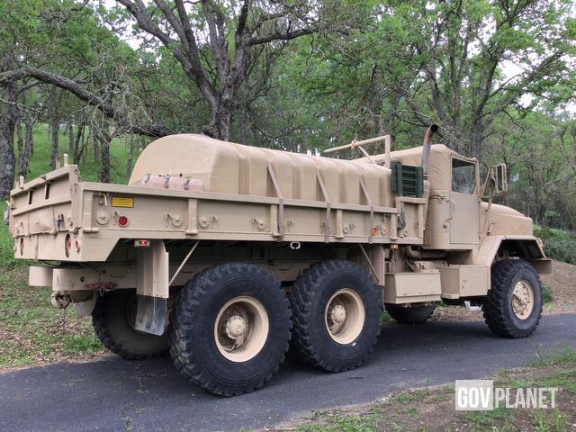 Surplus 1991 BMY M923A2 5 Ton 6x6 Cargo Truck in Clayton