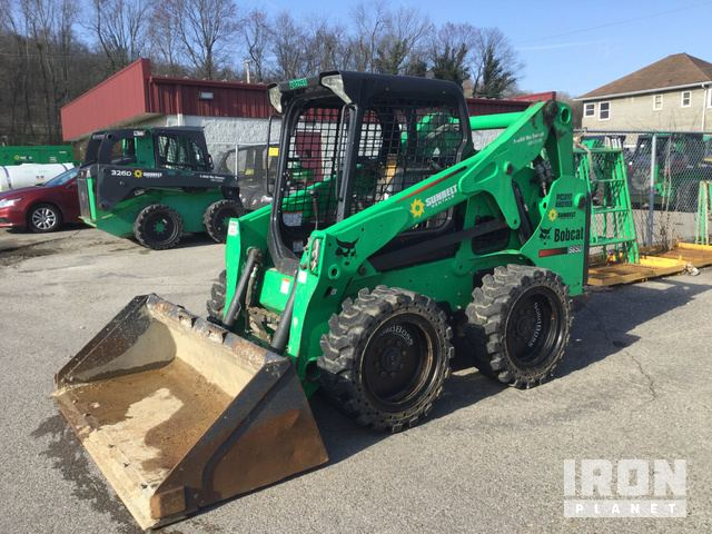 2012 Bobcat S650 Skid-Steer Loader in St  Albans, West