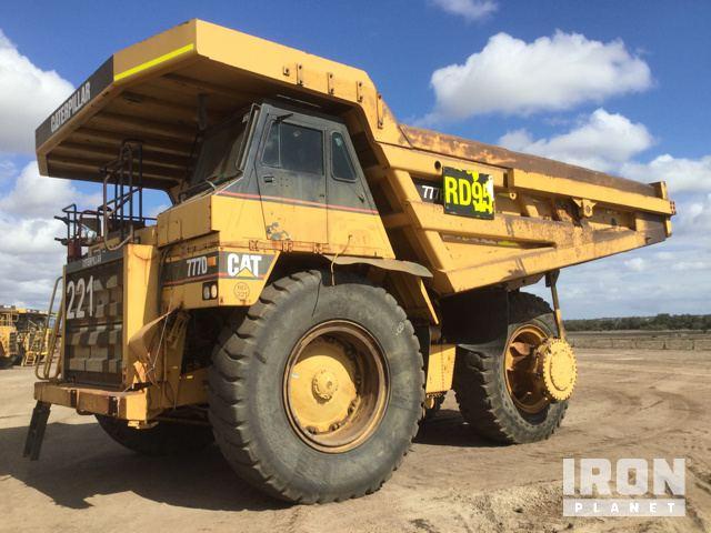 Caterpillar 775F Rock Truck Specs & Dimensions :: RitchieSpecs