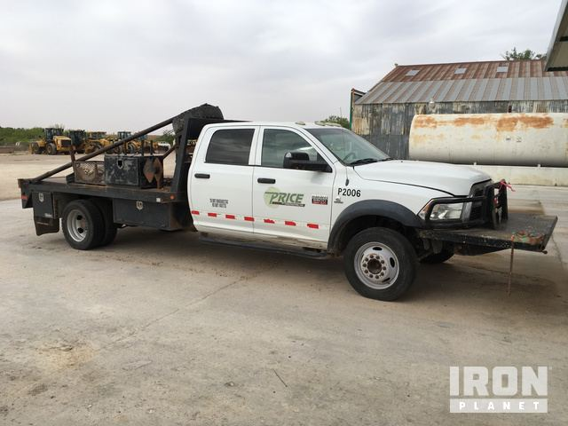 2012 Dodge Ram 5500 Gin Pole Truck in Big Spring, Texas