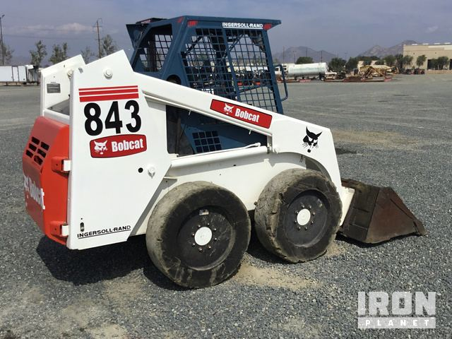 Array - bobcat 843 skid steer loader in perris california united      rh   ironplanet com