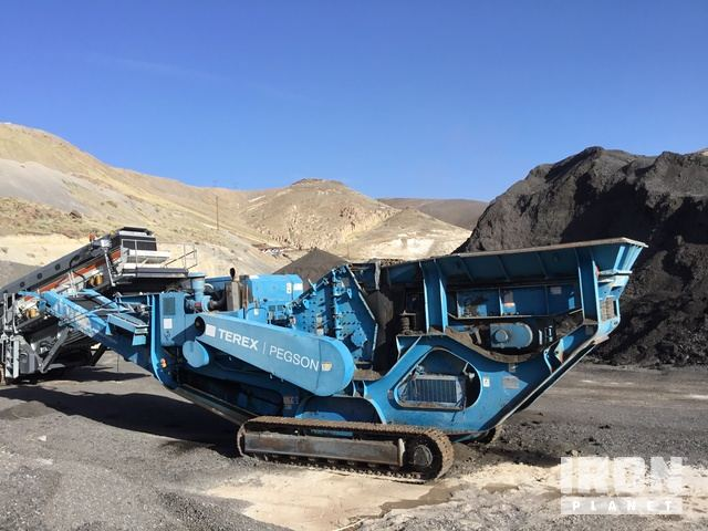 2006 terex pegson 428 tracked mobile impact crusher in sparks rh ironplanet com