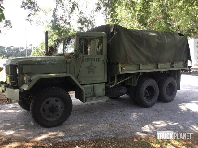 1971 AM General M35A2 2 1/2 Ton 6x6 Cargo Truck in Bunnell, Florida