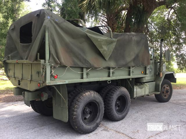 1971 AM General M35A2 2 1/2 Ton 6x6 Cargo Truck in Bunnell