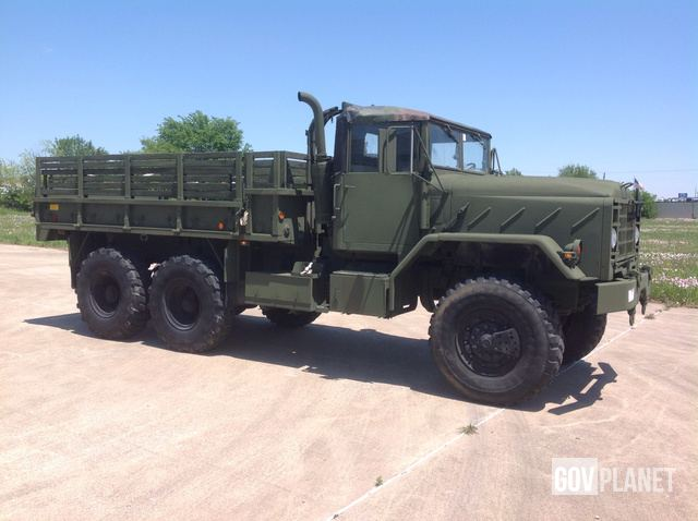 Surplus BMY M923A2 5 Ton 6x6 Cargo Truck in Irving, Texas