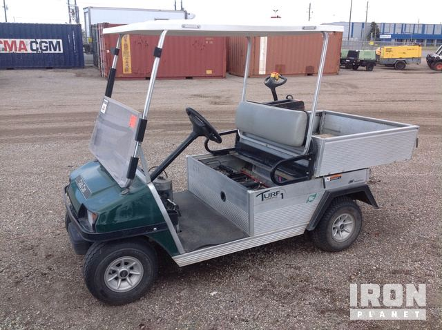2013 Club Car Turf 1 Carryall Electric Powered Cart In Humble Texas