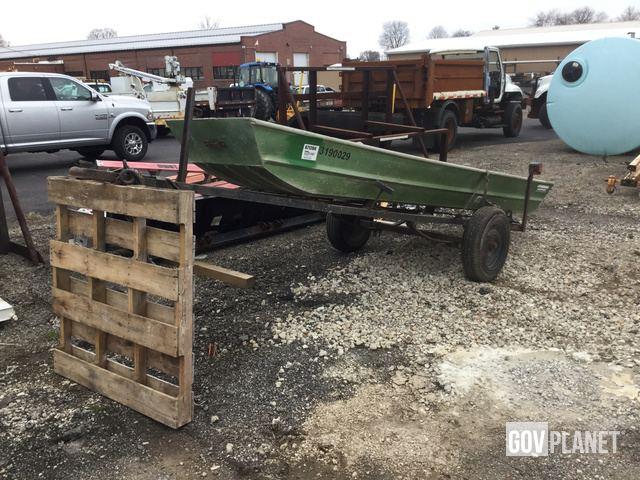 1983 OPI JD14 Delux Boat w/ Homemade Trailer - 3190029 / L