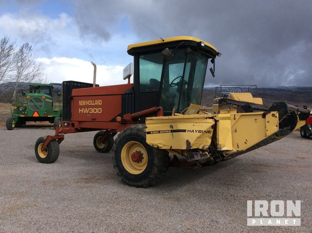 New Holland HW300 Swather/Windrower in Richfield, Utah