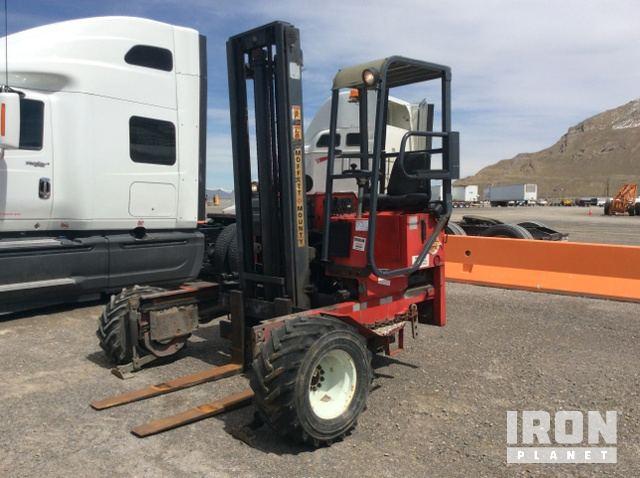 moffett m5000 truck mounted forklift in lake point utah united rh ironplanet com Moffett Forklift Parts Moffett Forklift Hydraulic Diagrams