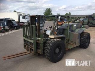 Entwistle Mhe 270 Rough Terrain Forklift In U S Army Depot