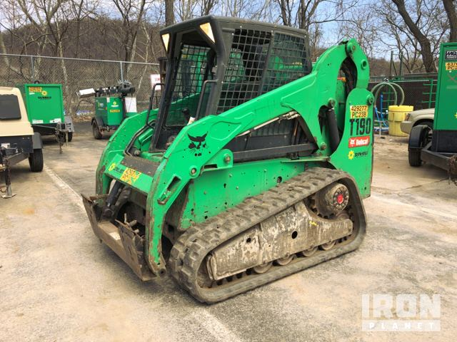 2012 Bobcat T190 Compact Track Loader In Pittsburgh Pennsylvania