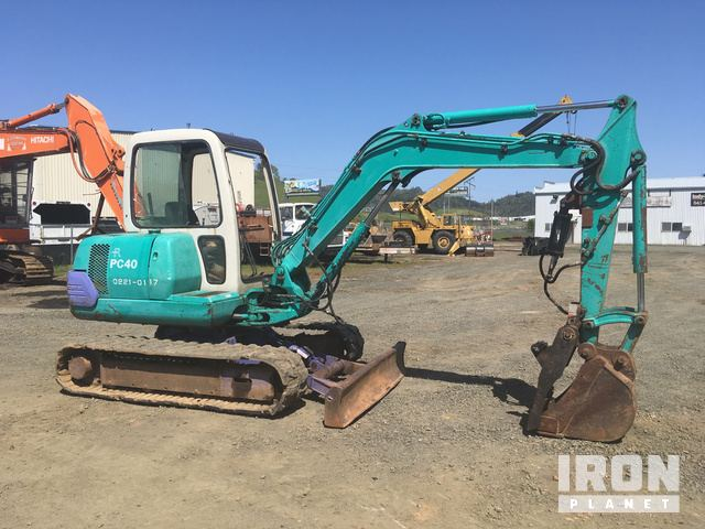 Komatsu PC40-7E Mini Excavator in Roseburg, Oregon, United