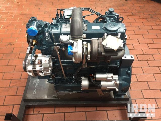 Kubota V3600-T-ET02 Engine in Emmerich, North Rhine