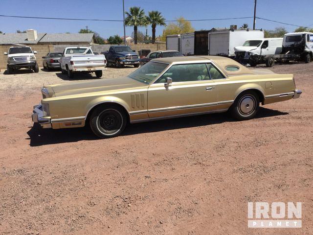 1978 Lincoln Continental Mark V Coupe in Mesa, Arizona