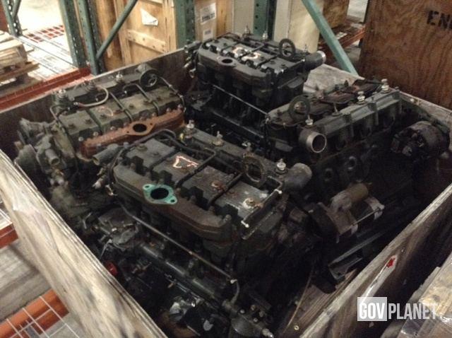 Surplus Lot of (18) Onan Diesel Engines in Chambersburg
