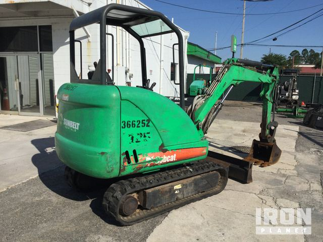 2011 (unverified) Bobcat 325 Mini Excavator in Orange Park