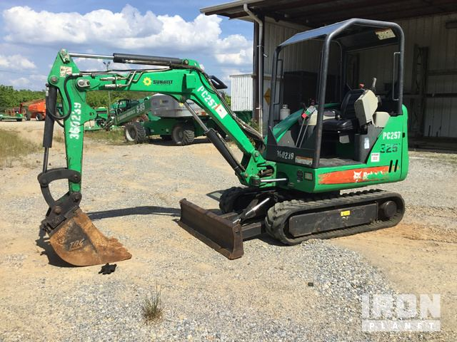 2011 Bobcat 325 Mini Excavator in Montgomery, Alabama