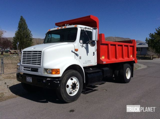 1997 International 8100 S/A Dump Truck in South Lake Tahoe